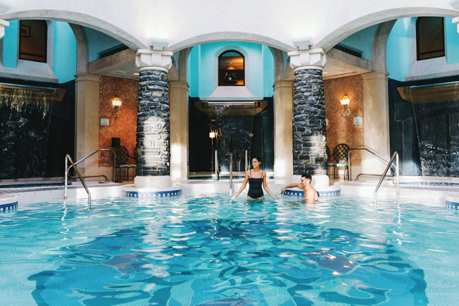 Fairmont Banff Springs, Willow Stream Spa