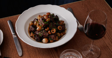 The Vermillion Room's Bison Bourguignon Recipe