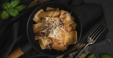 Banff Christmas Recipes – Organic Turkey Ravioli