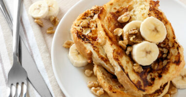 Banff Christmas Recipes – Banana Egg Nog French Toast