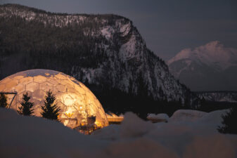 Fairmont Banff Springs Unveils 360° Dome Dining Experience