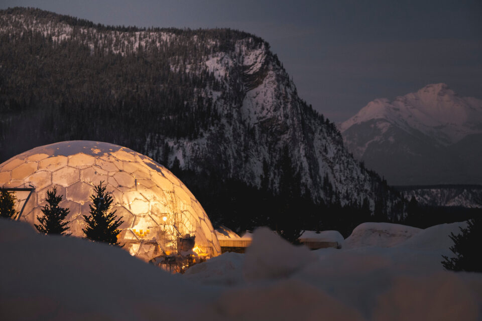 360° DOME DINING EXPERIENCE