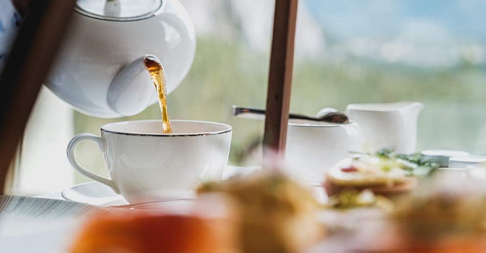 Top 10 Rainy Day Activities in Banff  definitely includes Afternoon Tea at the Castle.