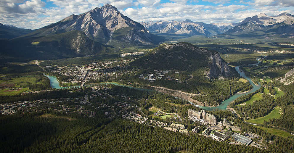 Connection to Banff, Fairmont Banff Springs